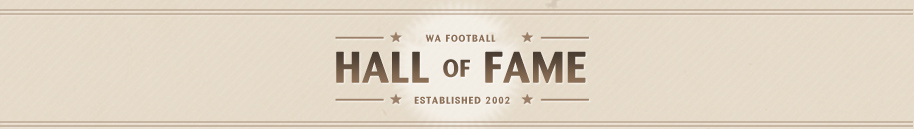 WA Football Hall of Fame Logo