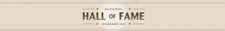 WA Football Hall of Fame Logo